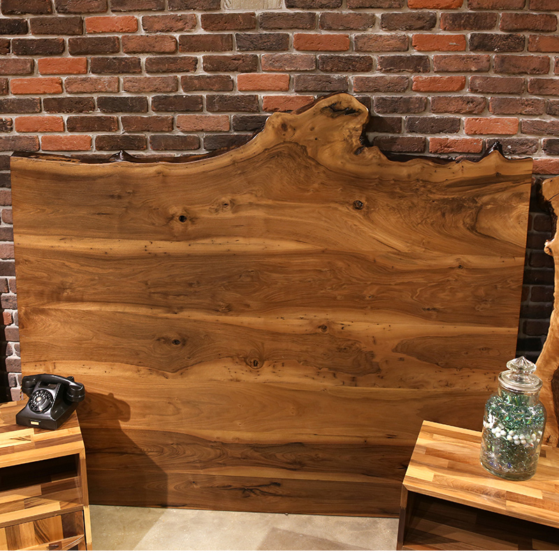 Solid Wood Walnut Hotel Headboards