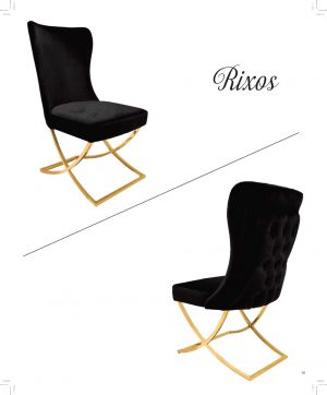 Rixos metal legged chair for restaurants cafes hotels